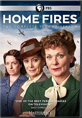 Home fires - Season 2 dvd cover