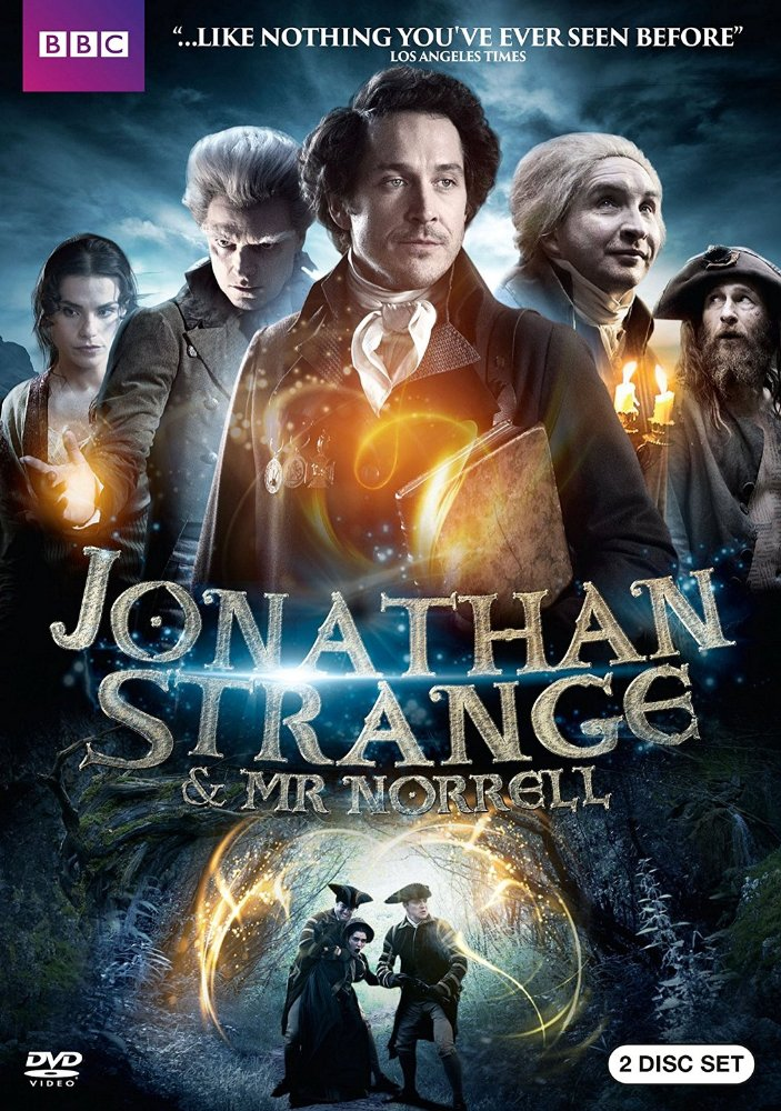 Jonathan Strange & Mr. Norrell dvd cover