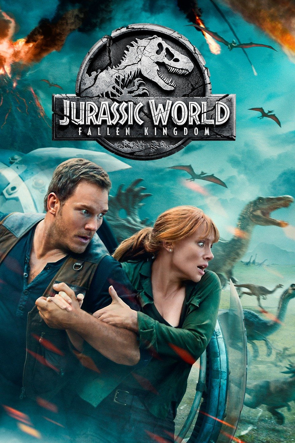 Jurassic World: fallen kingdom dvd cover