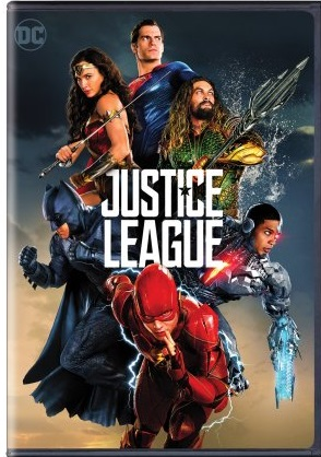Justice league dvd cover