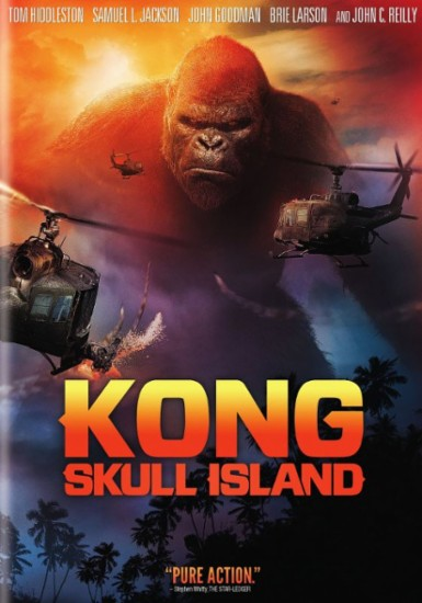 Kong : Skull Island dvd cover