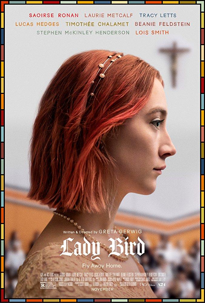 Lady bird dvd cover