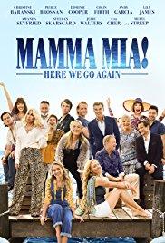 Mamma mia!. Here we go again dvd cover