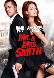Mr. & Mrs. Smith dvd cover