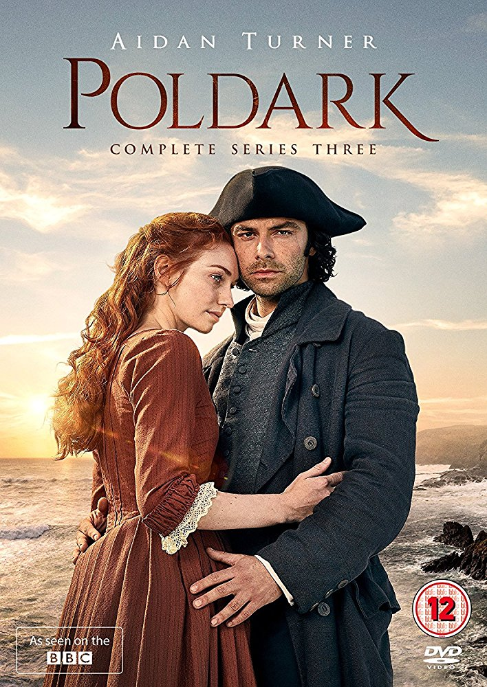 Poldark: Season 3 dvd cover