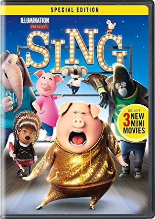 Sing dvd cover