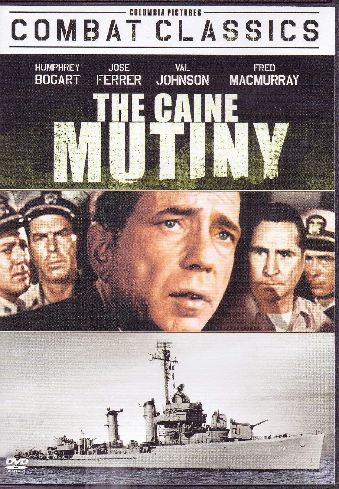 The Caine Mutiny dvd cover