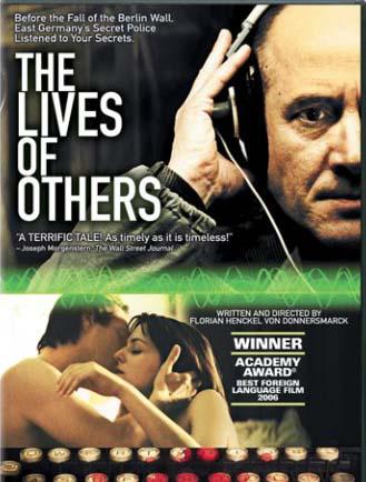 Lives of others / Leben der Anderen dvd cover