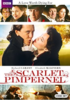 Scarlet Pimpernel dvd cover