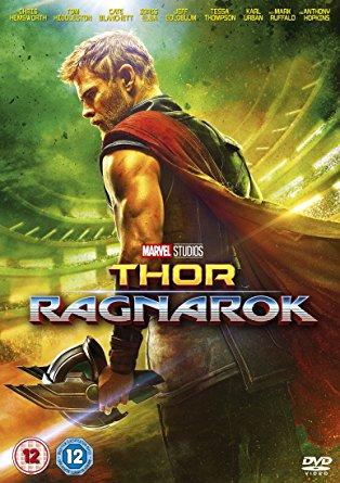 Thor, Ragnarok dvd cover