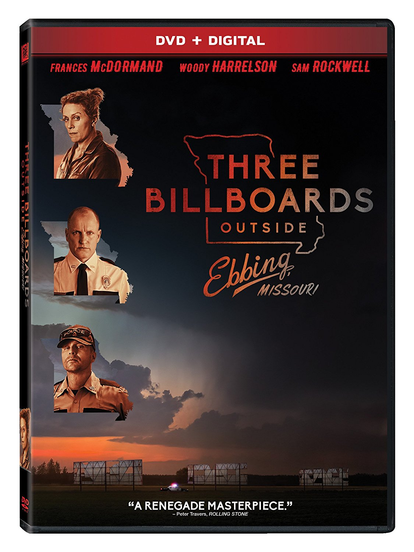 Three billboards outside Ebbing, Missouri dvd cover