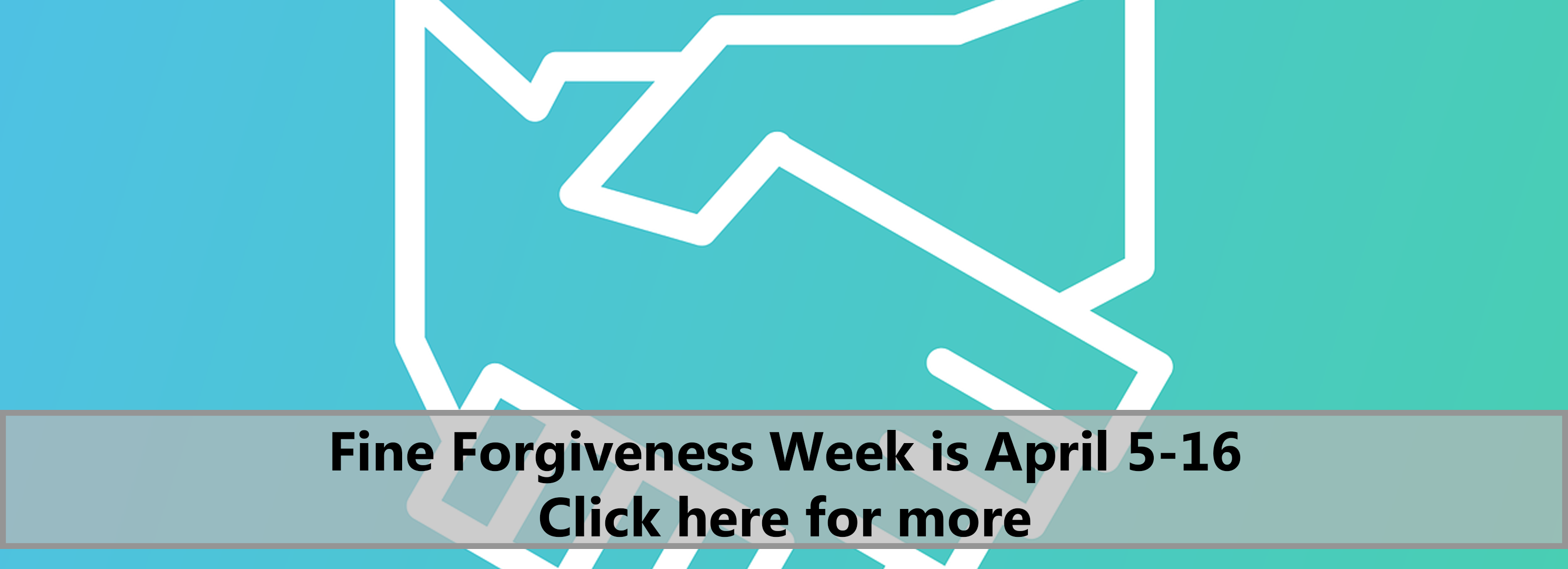 Fine Forgiveness Week is April 5-16. Click here for more.