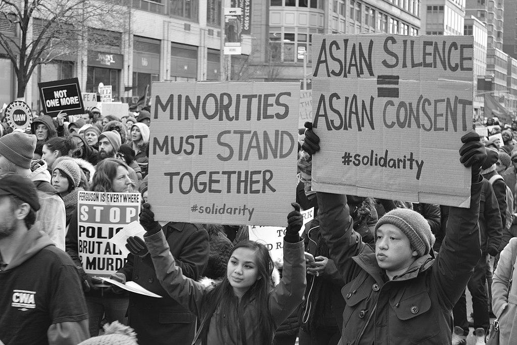 Asian American Protesting