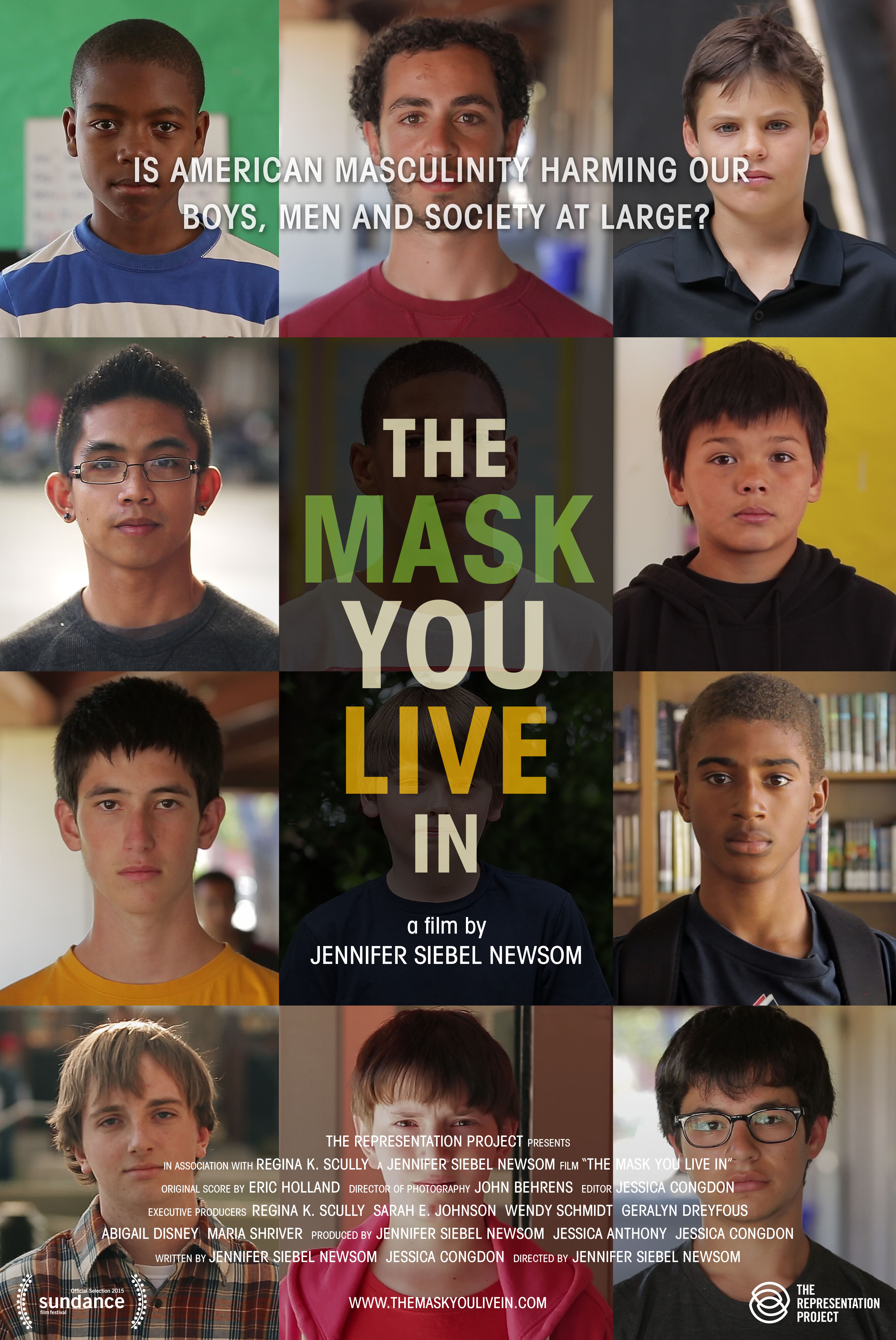 The Mask You Live In Movie Poster