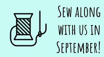 Sew along with us in September