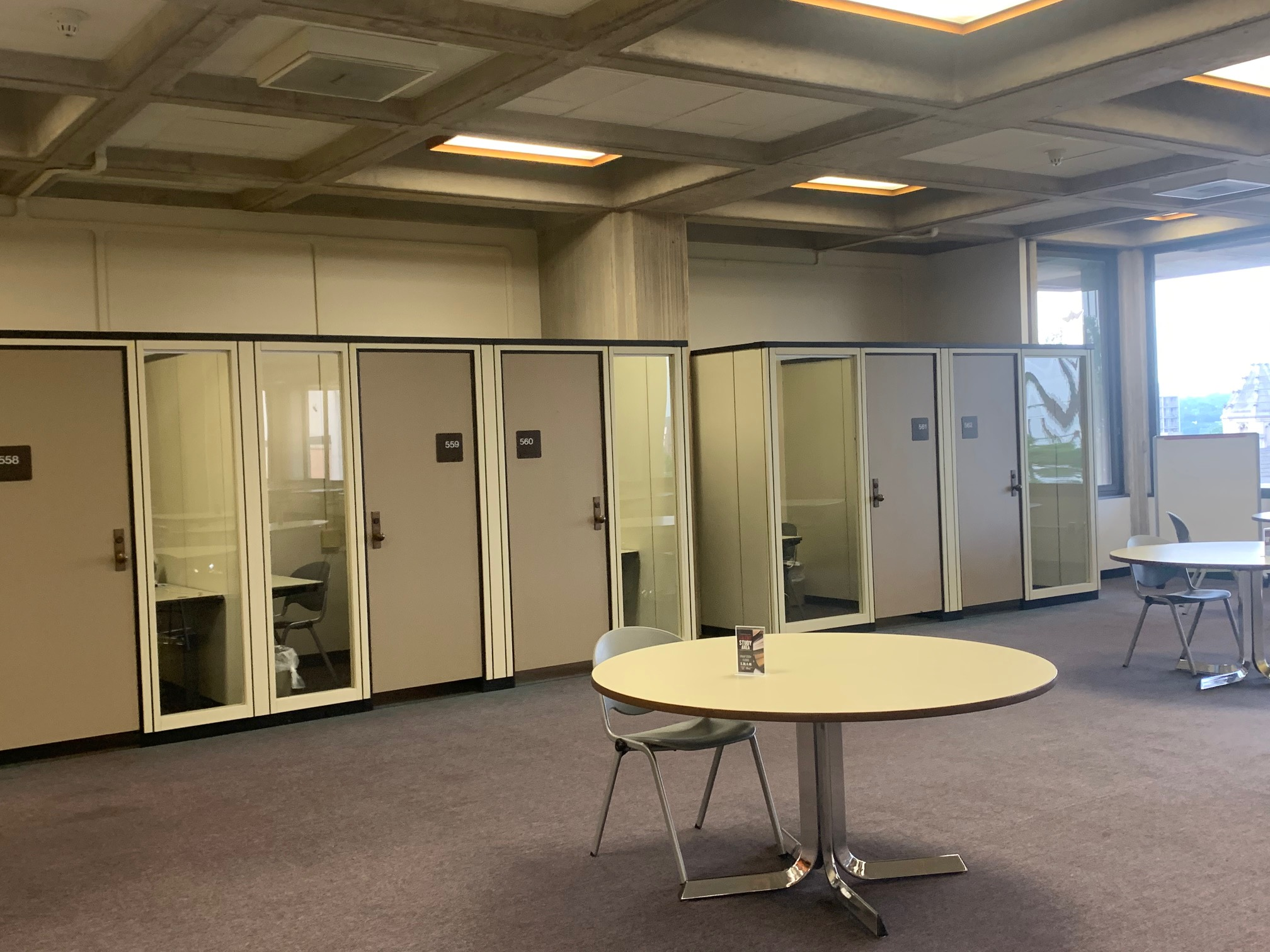 Photo of Maag Library Study Carrels