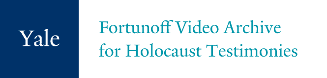 Logo: Fortunoff Video Archive for Holocaust Testimonies