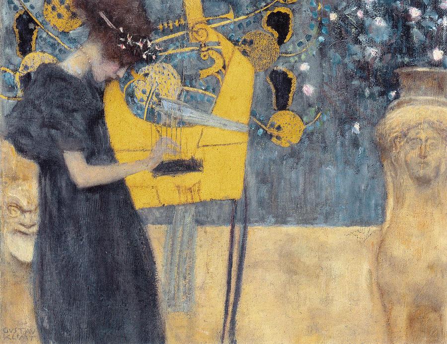"""""""Music"""" by Gustav Klimt"""