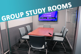 Small Group Study Rooms