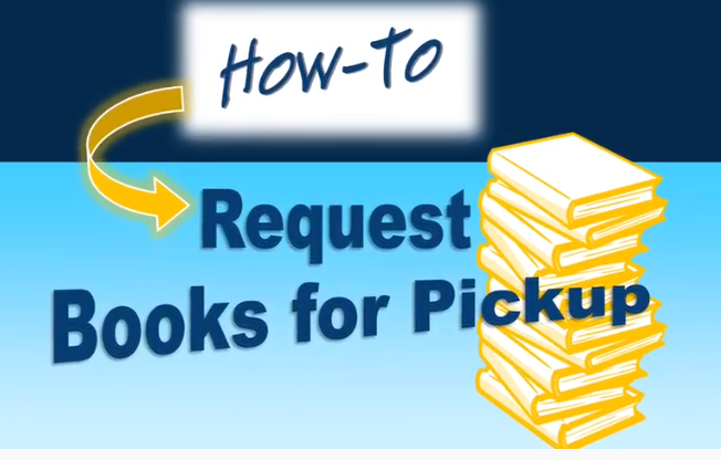 how to request books for pickup