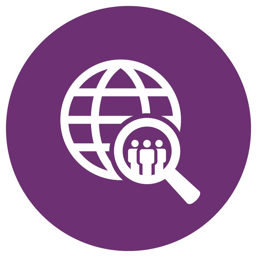 Purple Social Sciences icon