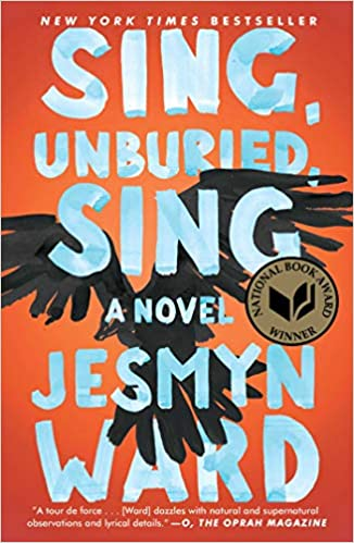 Book cover art for Sing Unburied, Sing: A Novel by Jesmyn Ward