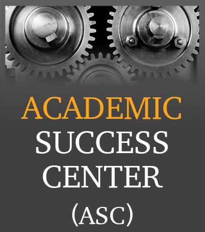 Academic Success Center Mini Banner