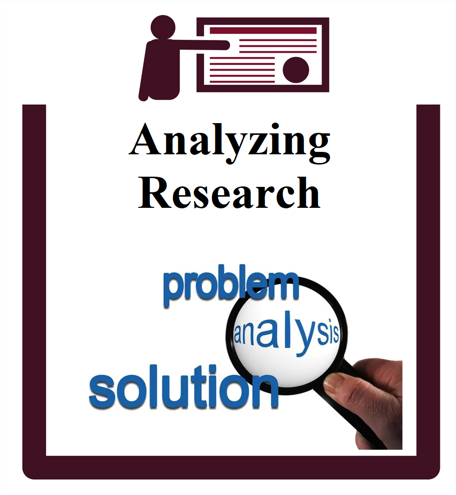 Analyzing Research group session icon