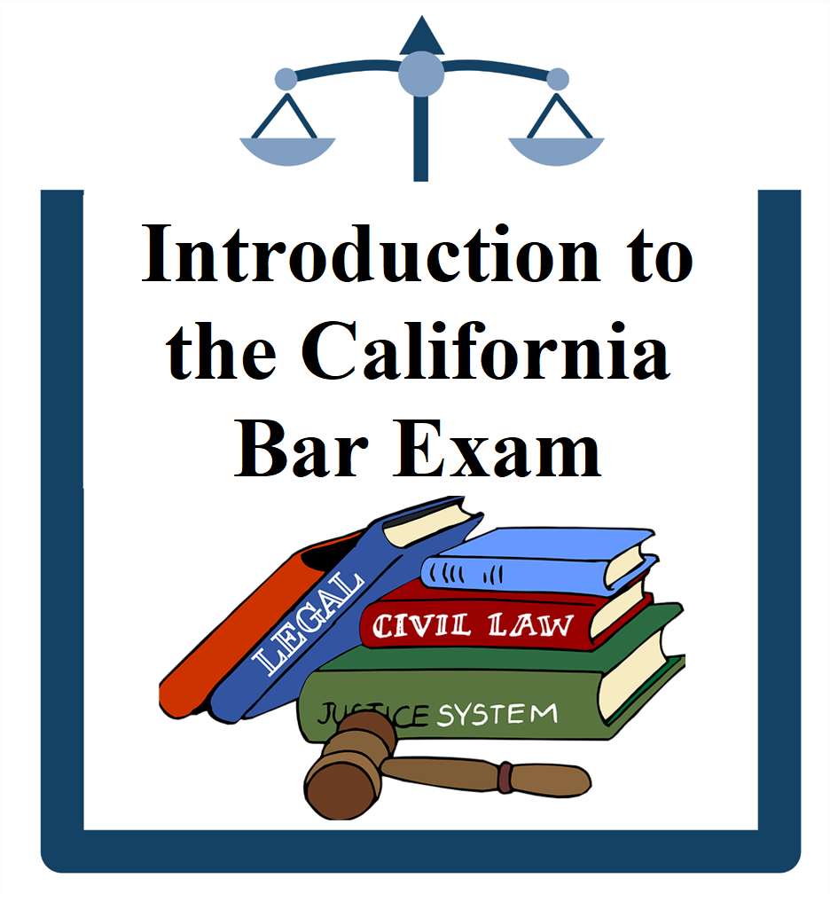 Cal Bar icon books and gavel