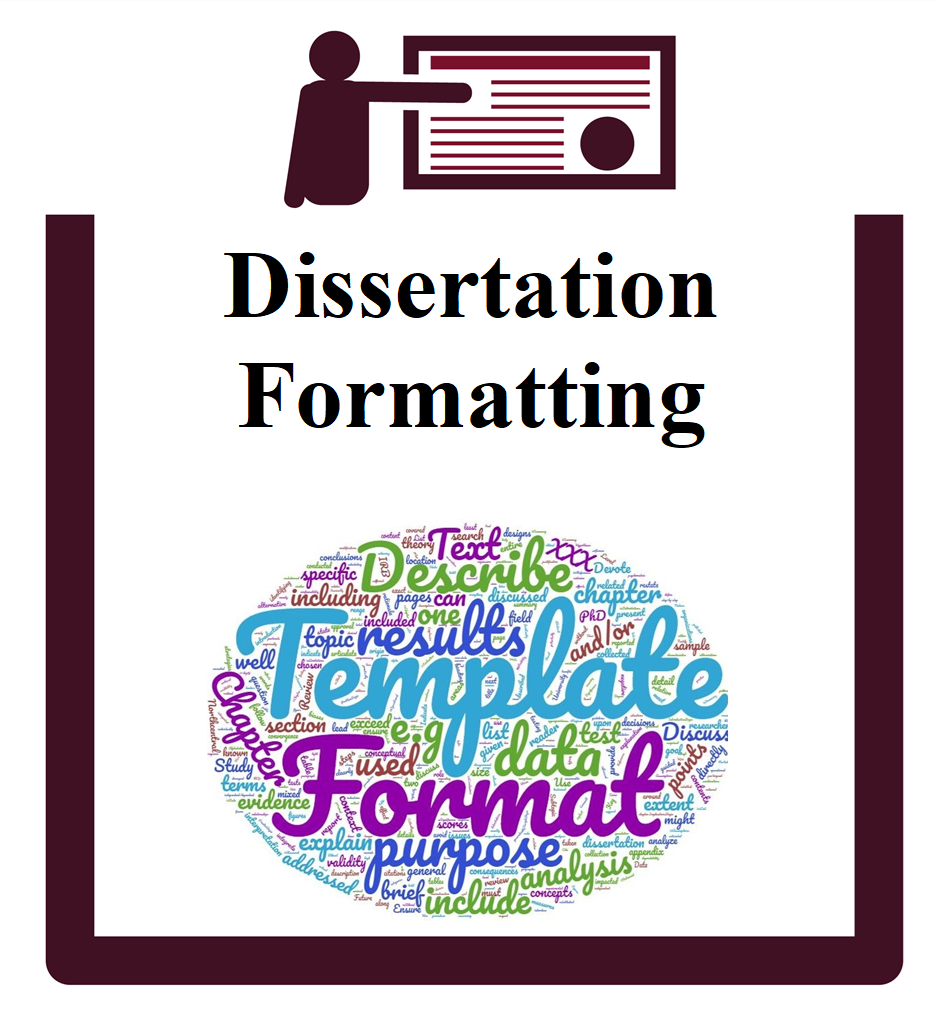 Dissertation Formatting group session icon