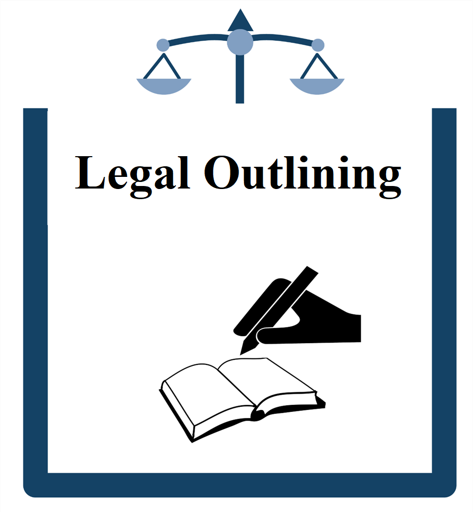 Legal writing icon hand holding pen and writing