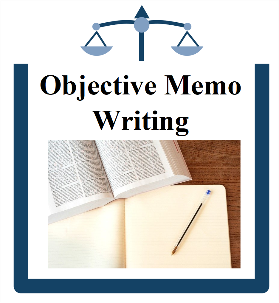 Objective Memo Writing icon picture of a book pen and paper