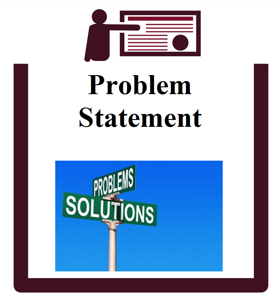 Problem Statement group session icon