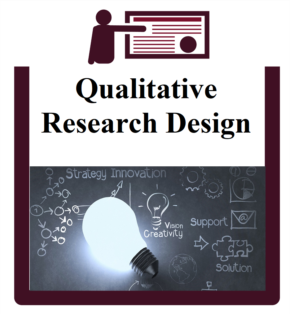 Qualitative Research Design group session icon
