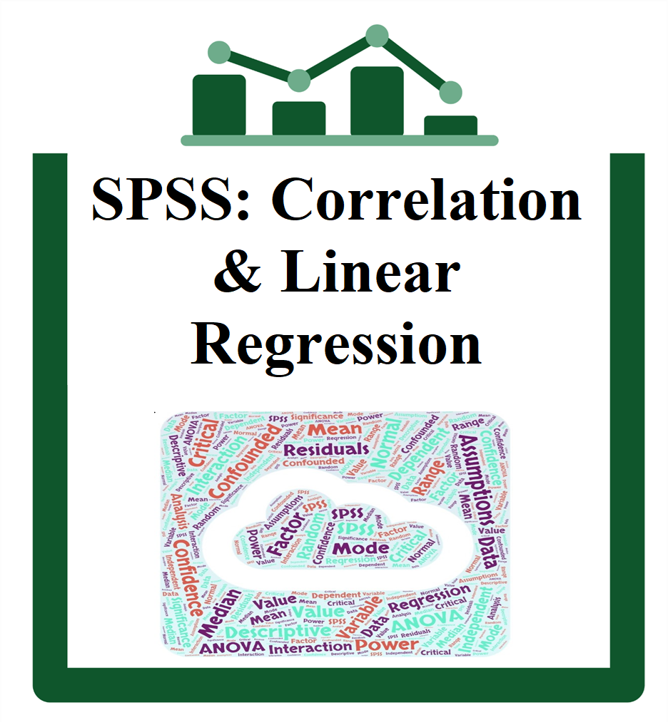 SPSS: Correlation/Linear Regression group session icon