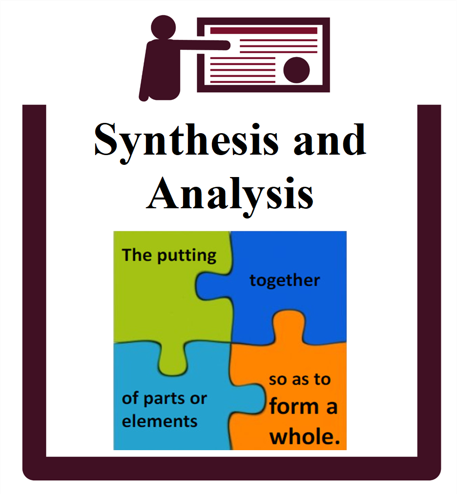 Synthesis and Analysis group session icon