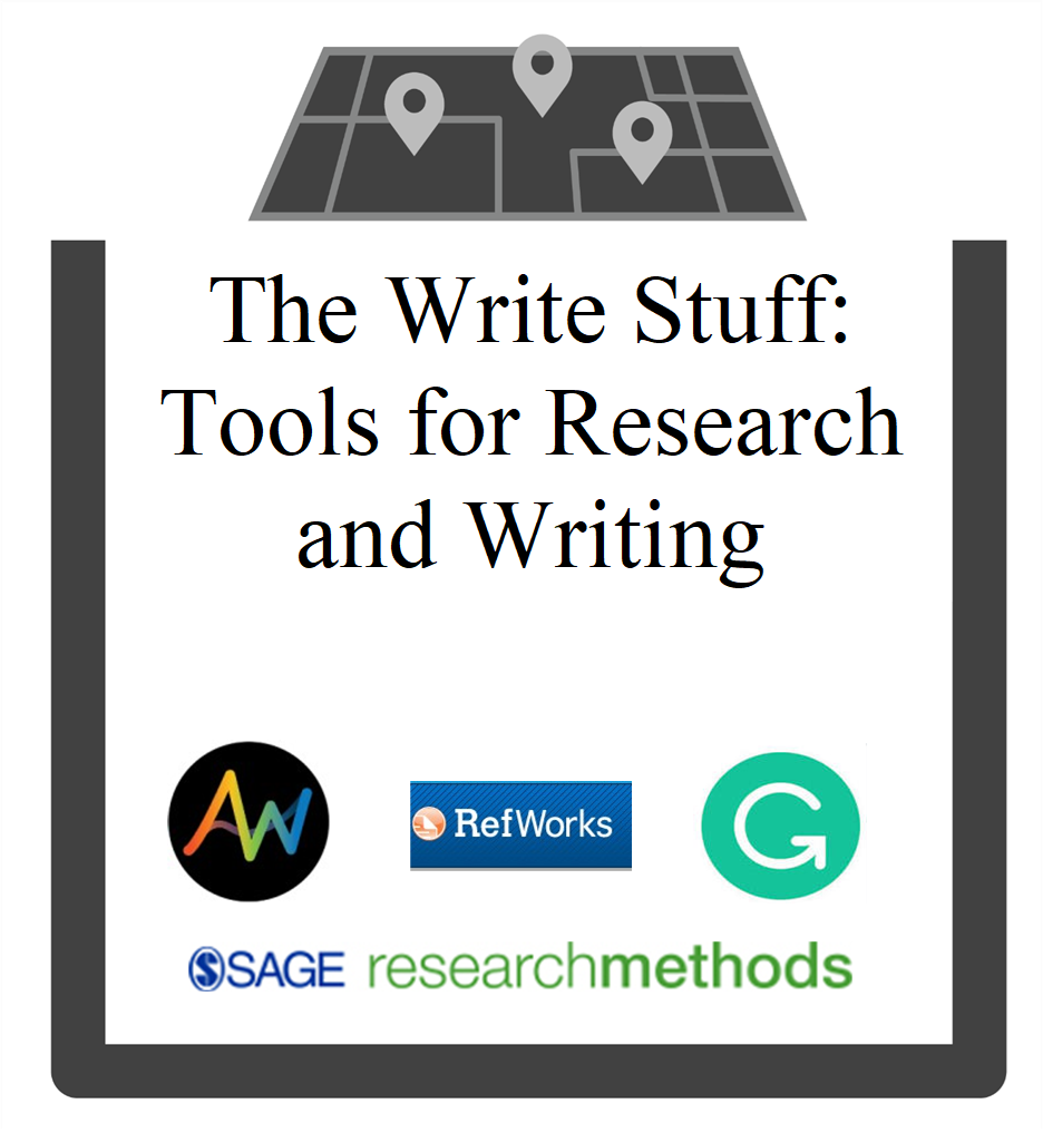 The Write Stuff: Tools for Research and Writing group session