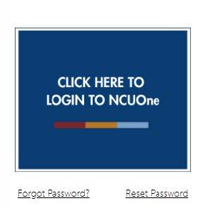 NCUOne login link