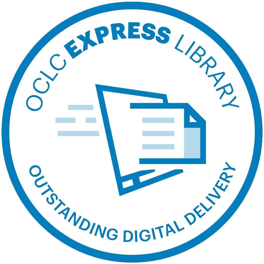 OCLC Express digital delivery badge