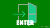 Enter sign
