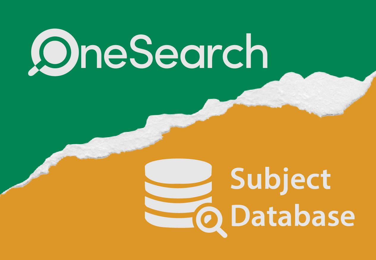 OneSearch versus subject databases