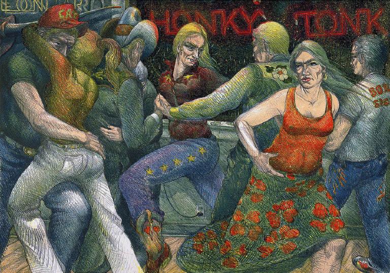 Honky Tonk by Luis Jimenez