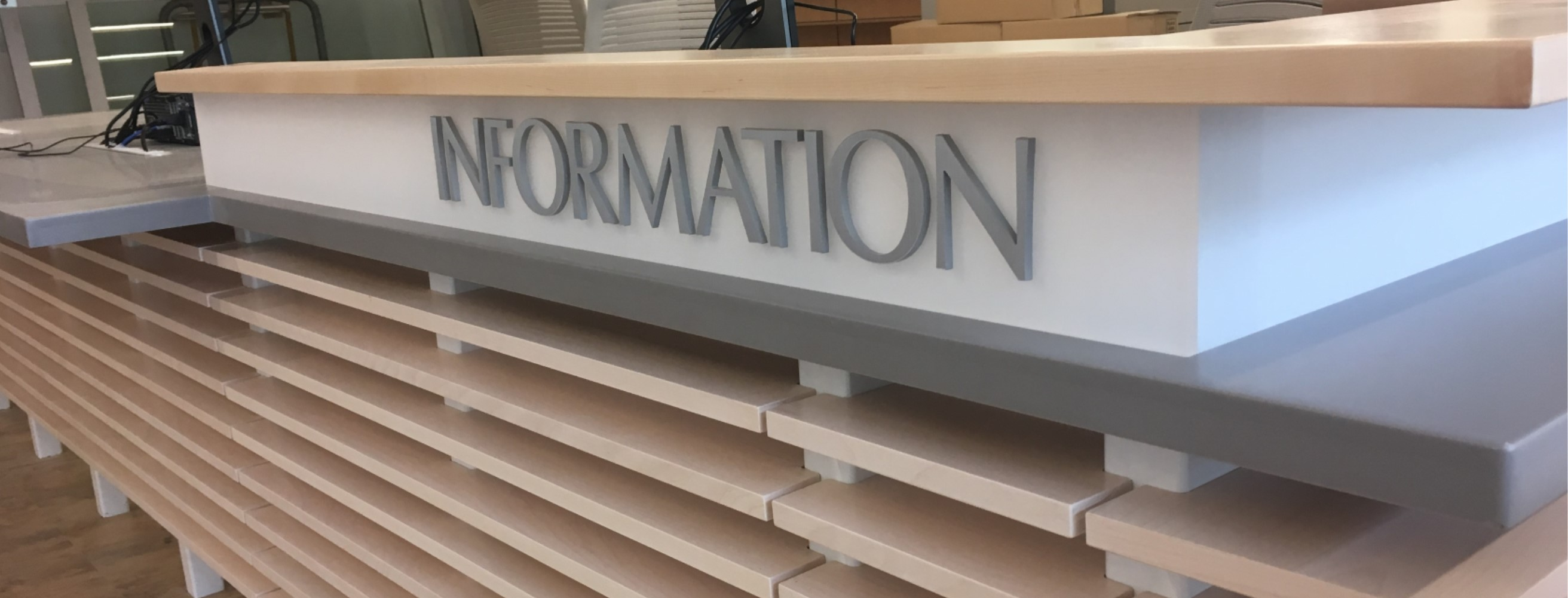 Library Services Information Desk