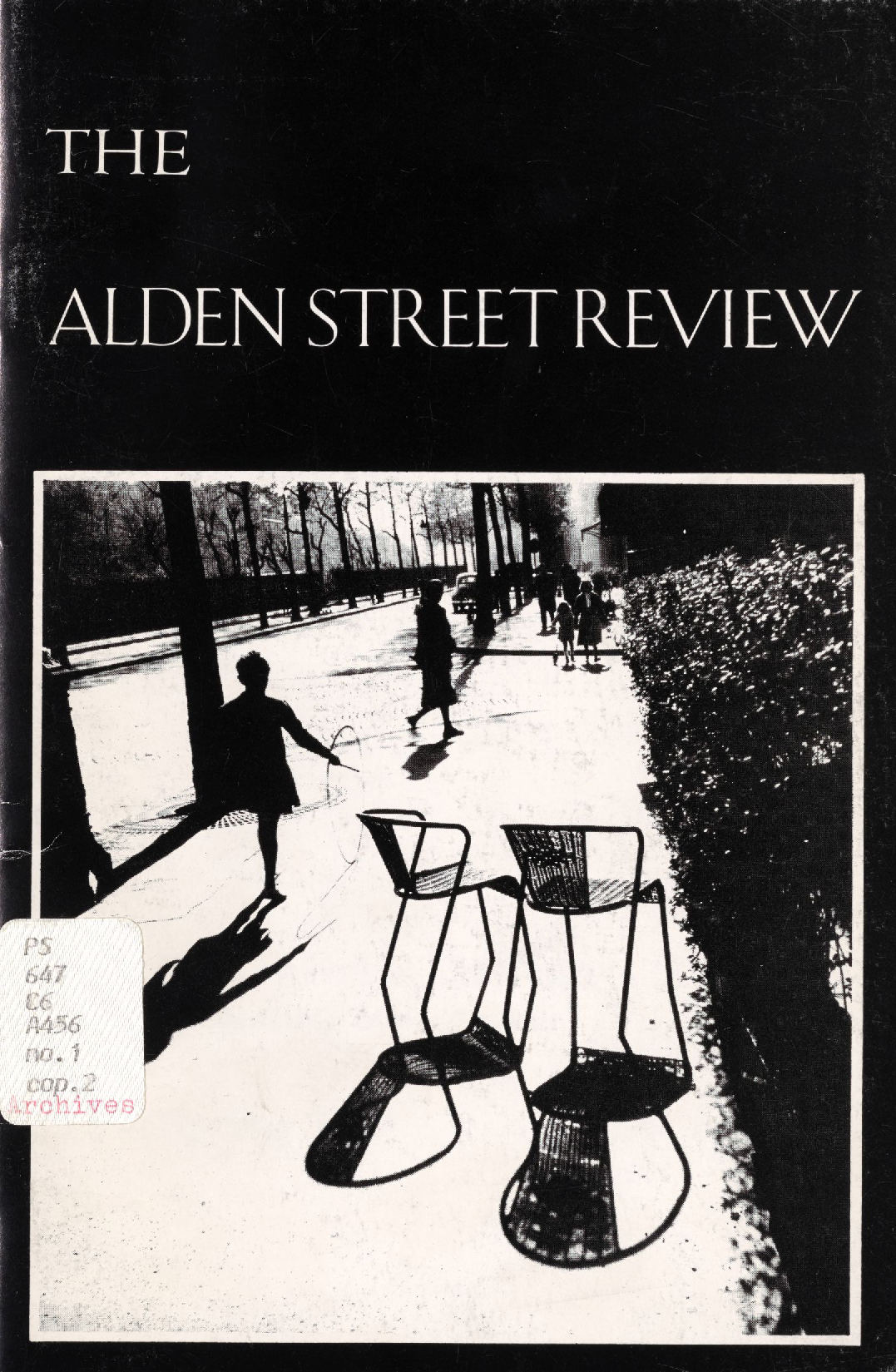 The Alden Street Review, 1987