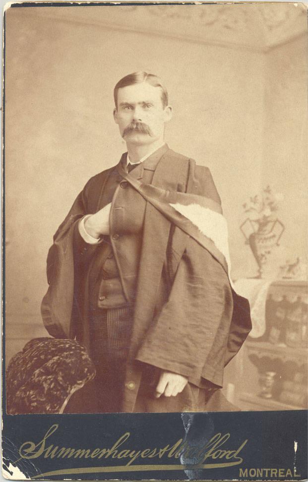 Dr. James Naismith, late 1880s