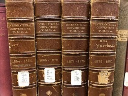 Spines of International Conventions of the Y.M.C.A.