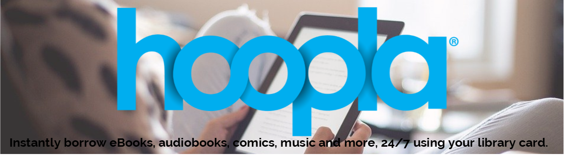 Download and stream ebooks, audiobooks, movies, tv shows, and more using the free library app, Hoopla.