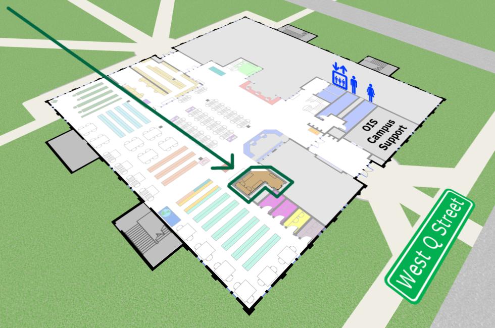 Reference Desk map