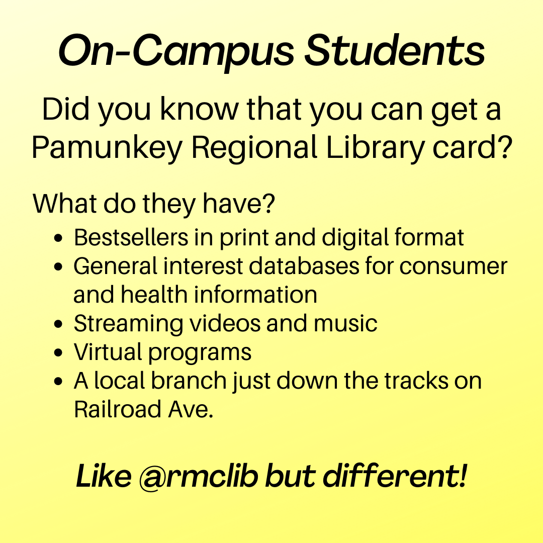 Pamunkey Regional Library information