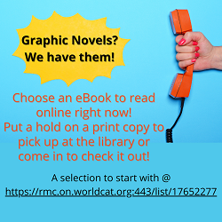 yellow callout graphic novels? we have them!